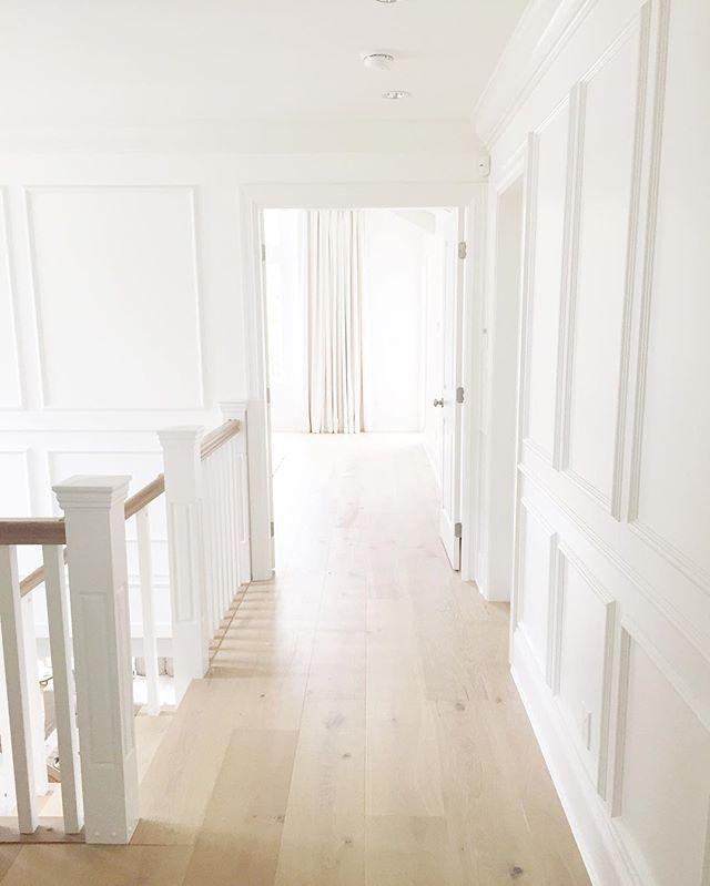 Hardwood Floors Plank Benjamin Moore Simply White Paint Colors