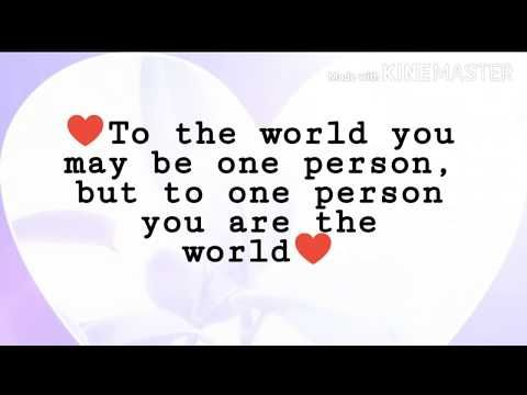 Heart touching love quotes//Best love quotes to express ...