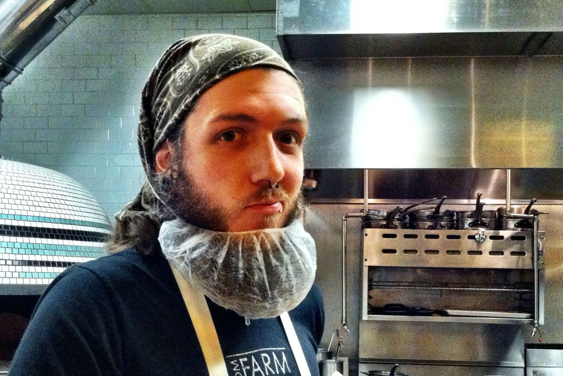Your Cool Bearded Chef Should Be Wearing A Beard Net