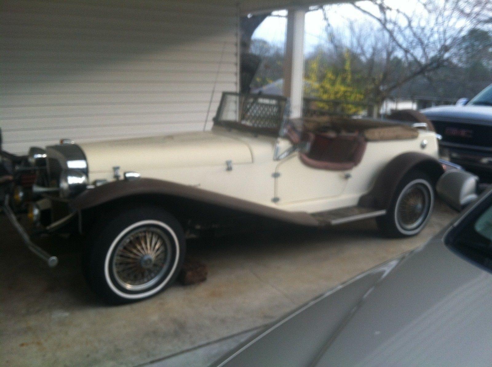 some parts missing 1929 Mercedes Benz Gazelle replica | Replica cars ...