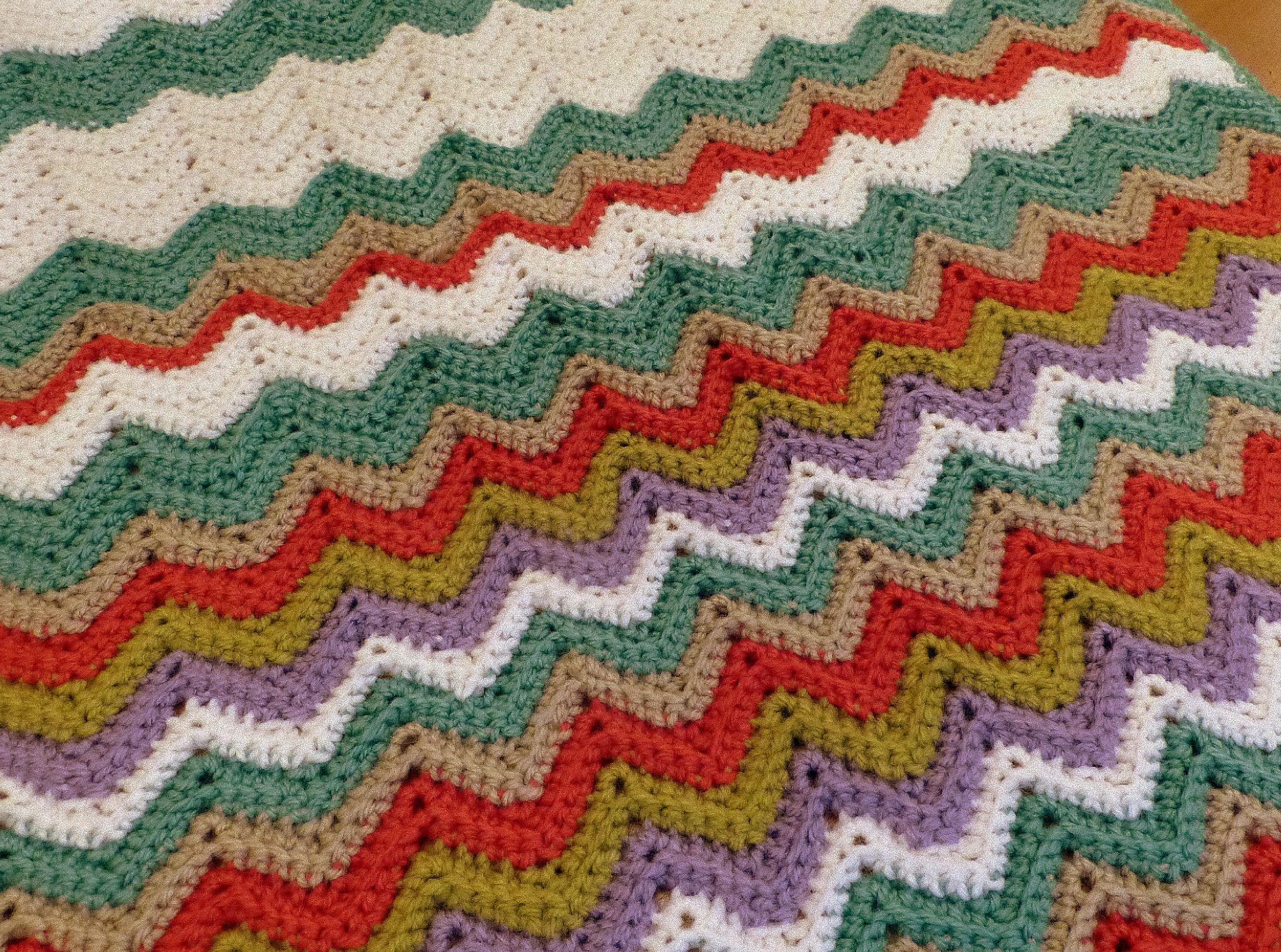 Perfecto Patrón Subordinados Crochet Composición - Manta de Tejer ...