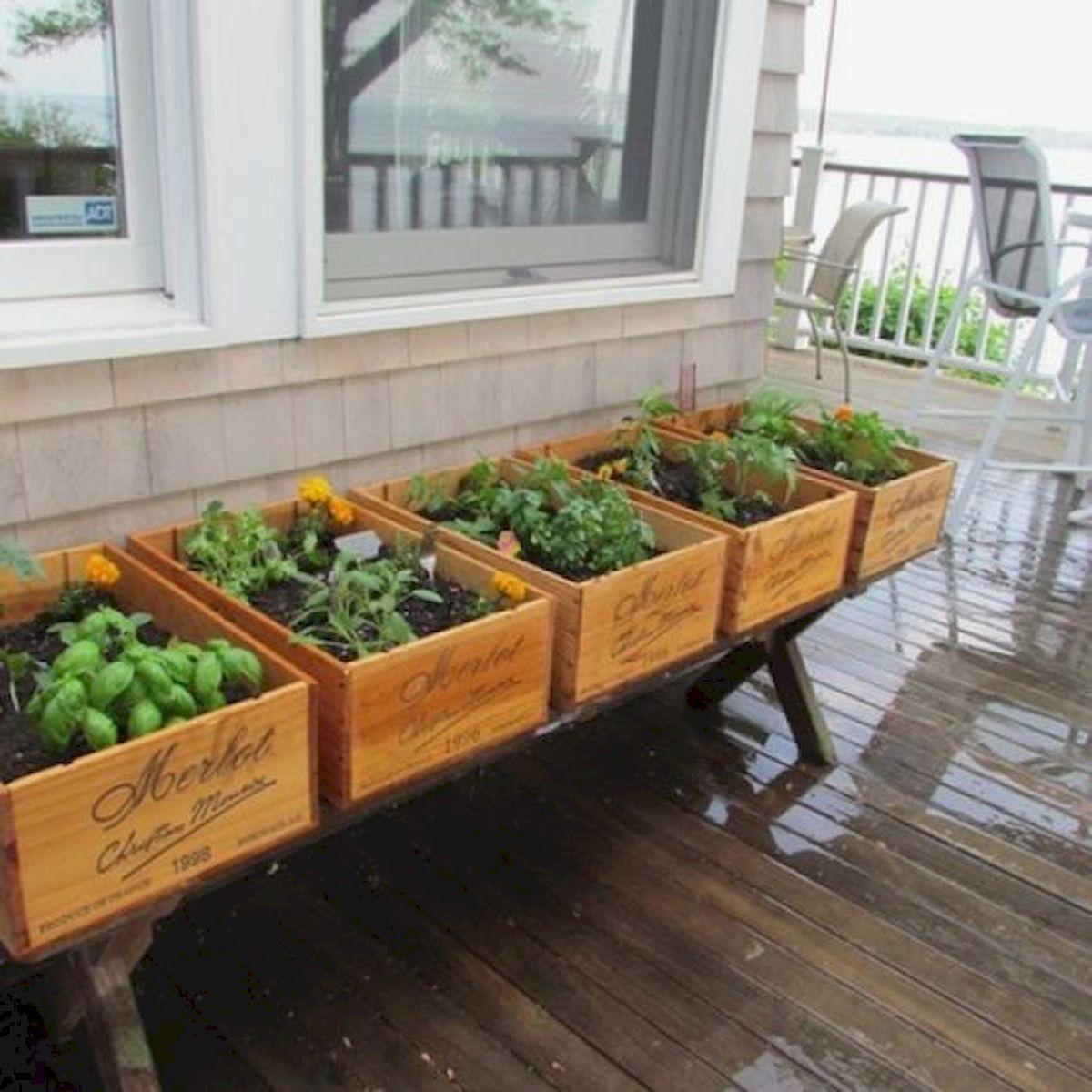 Herb Garden Indoor Design Ideas For Summer 24