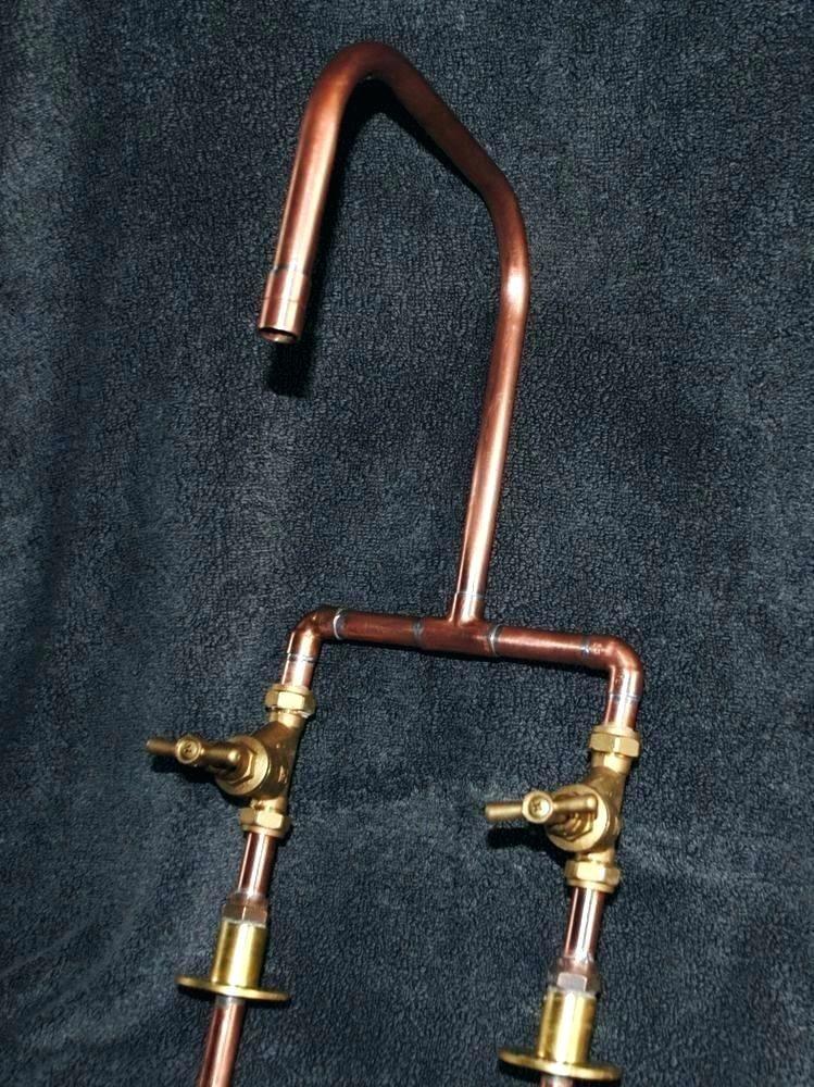 antique copper bar faucet premier