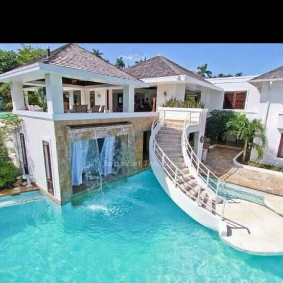 cool pool and house - Cool House Pools