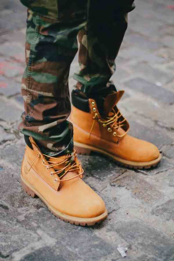 Timberland boots my favorite boots to wear when camping and