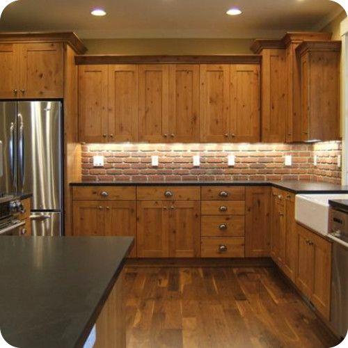 Knotty Maple Kitchen Cabinets: Best Backsplash Color For Maple Wood Cabinets