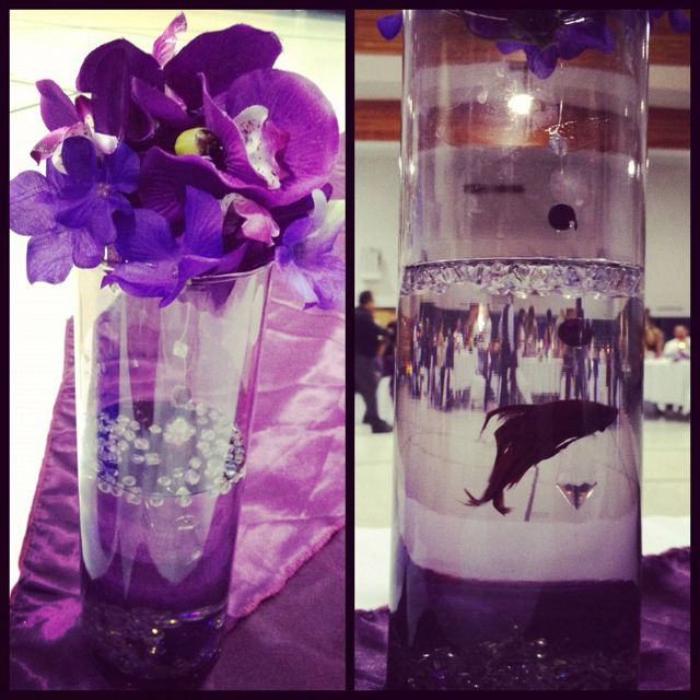 Ana Knezevich Dude Beta Fish Centerpieces For A Wedding Is
