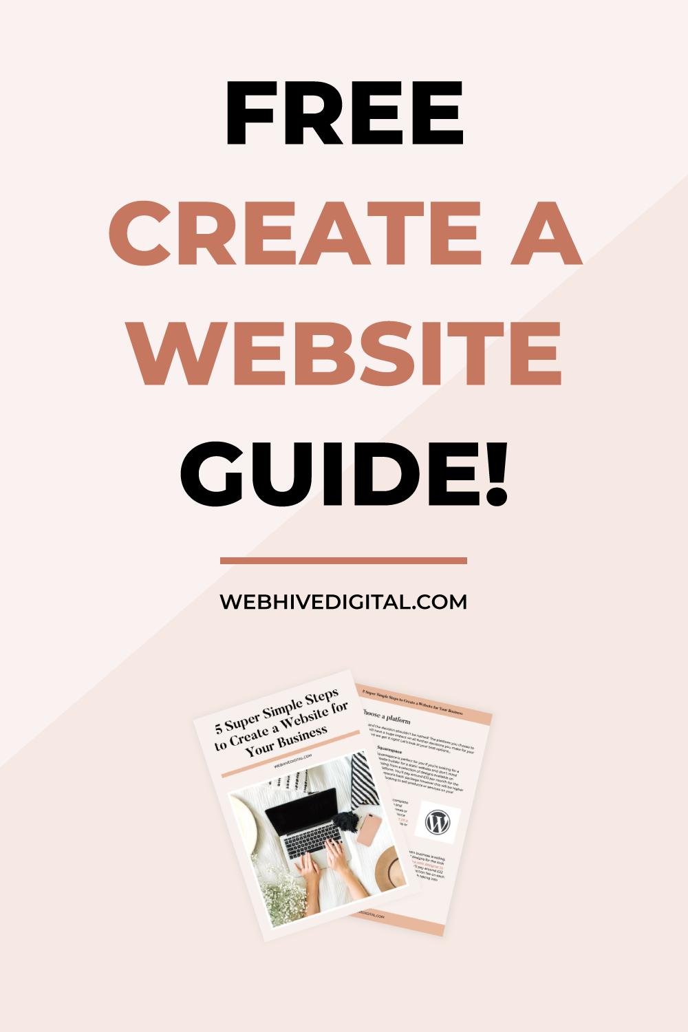 Free How To Create A Website Guide! in 2020 Small