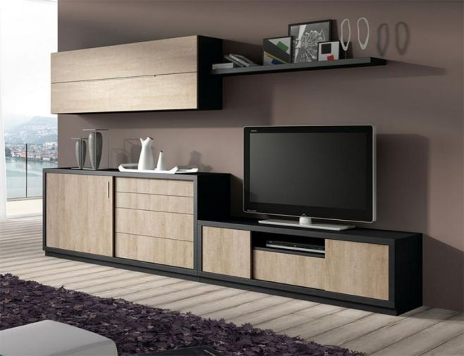 Contemporary Baixmoduls Tv Unit Sideboard And Wall Cabinet