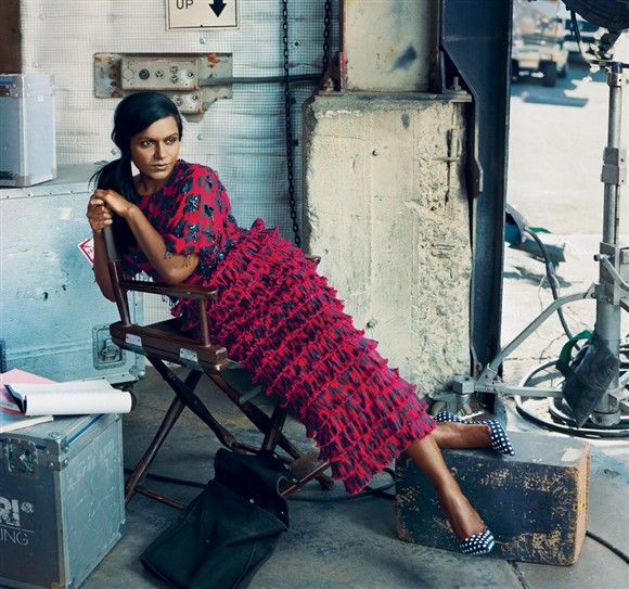 Mindy Kaling looks stunning in Vogue: 'I don't want to be skinny'