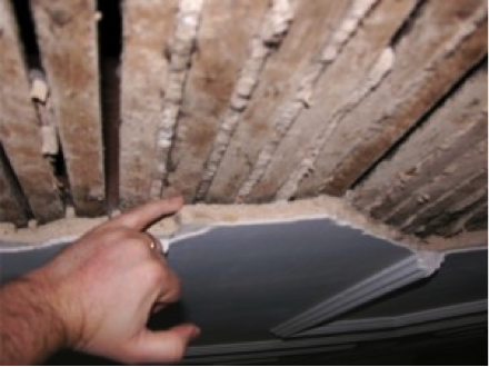 Asbestos Plaster Wall And Ceiling Asbestosremoval Asbestos Removal Asbestos Plaster Walls