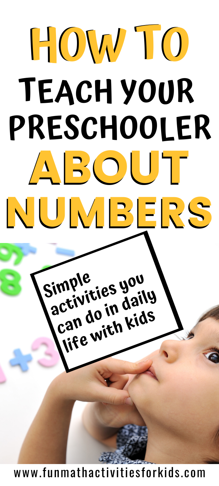 Photo of How to teach preschooler about numbers