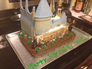 Amazoncom Harry Potter Castle Cake Decorating Kit Toys Games