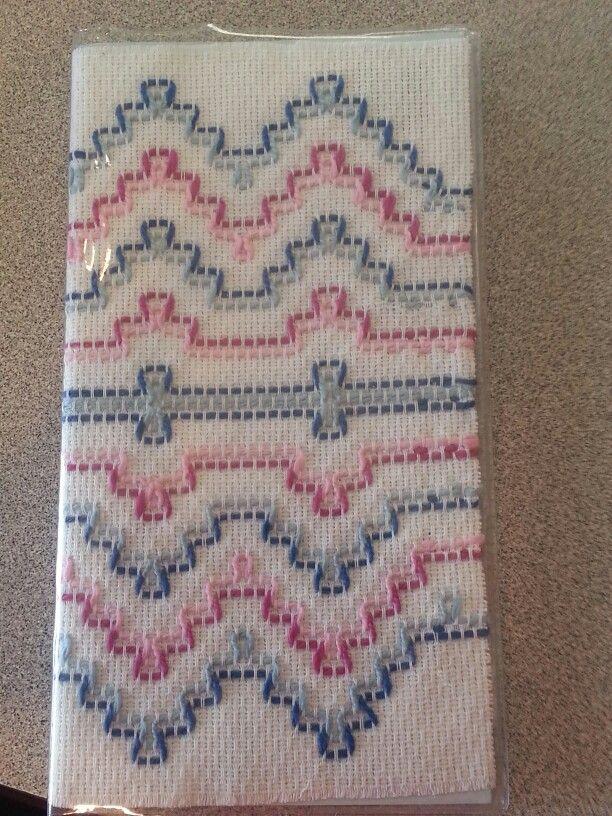 Calendar cover on huck toweling | Vagonite | Pinterest | Bordado ...