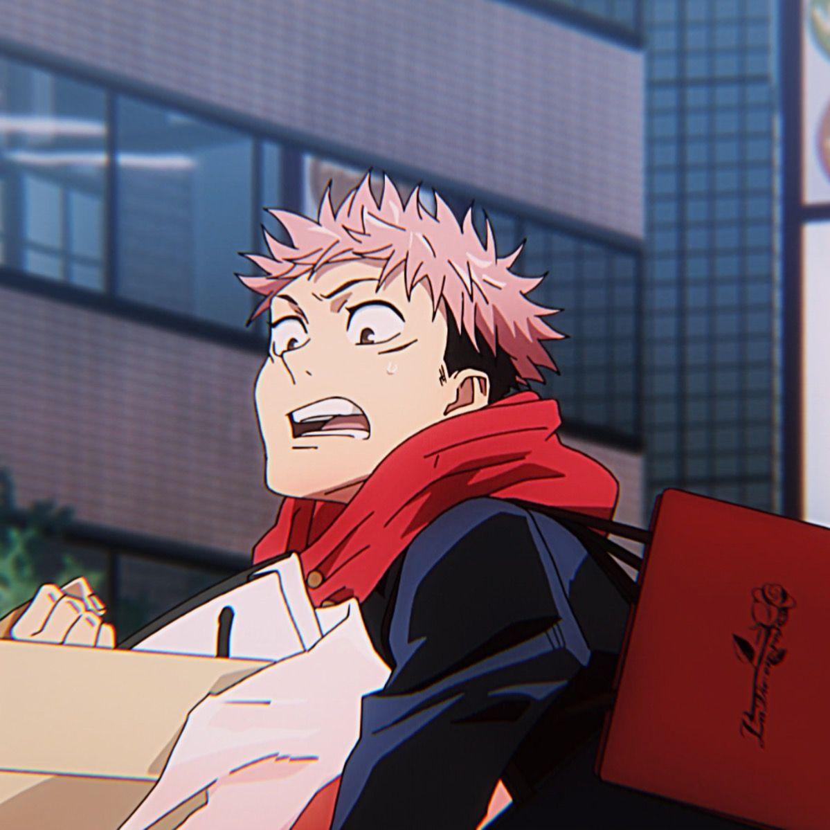 Yuuji Itadori Icon In 2021 Jujutsu Anime Seasons