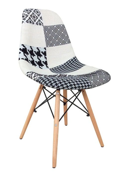 chaise patchwork speciale - Chaise Patchwork Eames