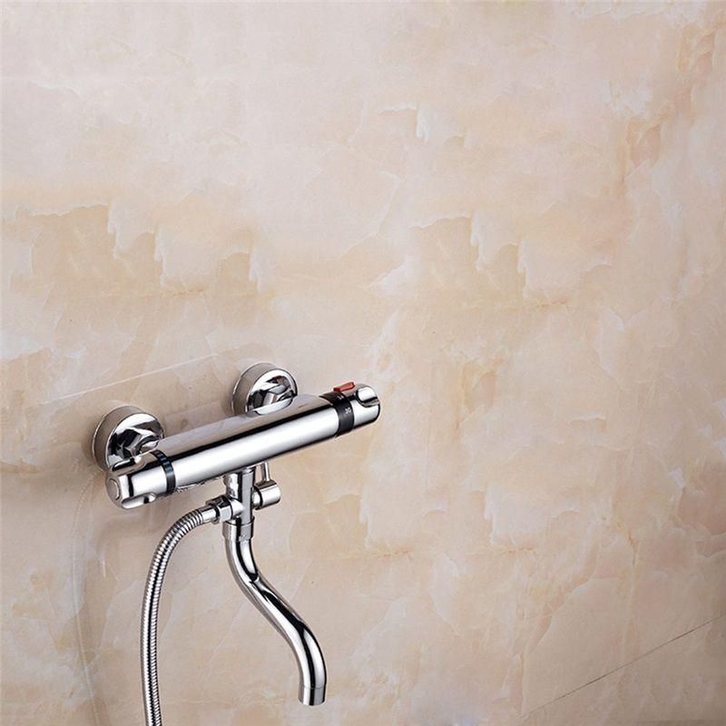 Thermostatic Shower Diverter Valve Round Chrome Diverter Valve With Tub Spout Shower Diverter