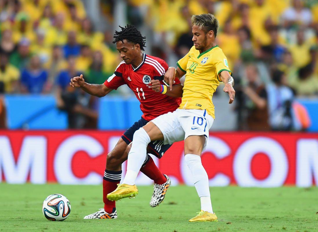 Suivez Brésil Colombie en images Neymar, Neymar da