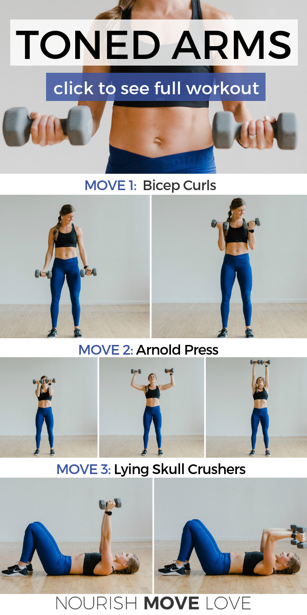 5 Best Upper Body Exercises for Women | Nourish Move Love