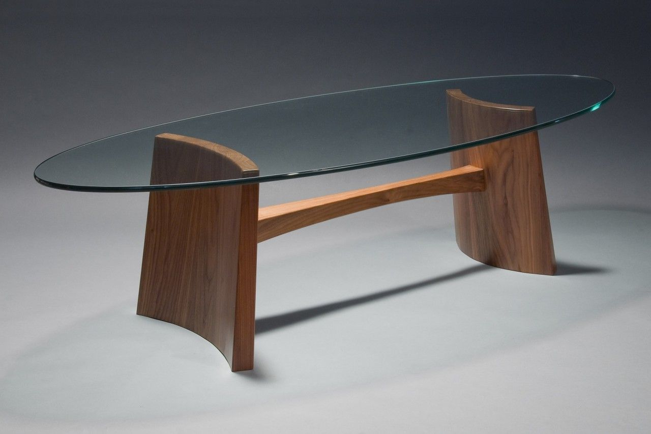 Attirant Modern, Contemporary Glass Top Clearwater Coffee Table Custom Made By Seth  Rolland Fine Furniture Design