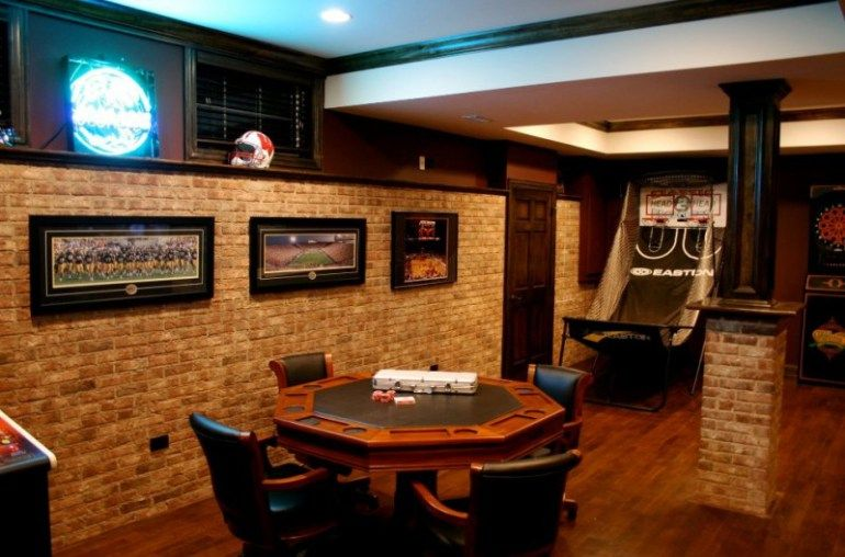 Family Rec Room Ideas Garage Game Rooms Small Finished Basements Game Room Design