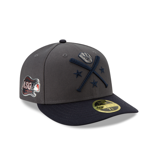 pretty nice 3d5d5 818db ... MLB by New Era Cap. MILWAUKEE BREWERS ALL-STAR GAME WORKOUT LOW PROFILE  59FIFTY FITTED