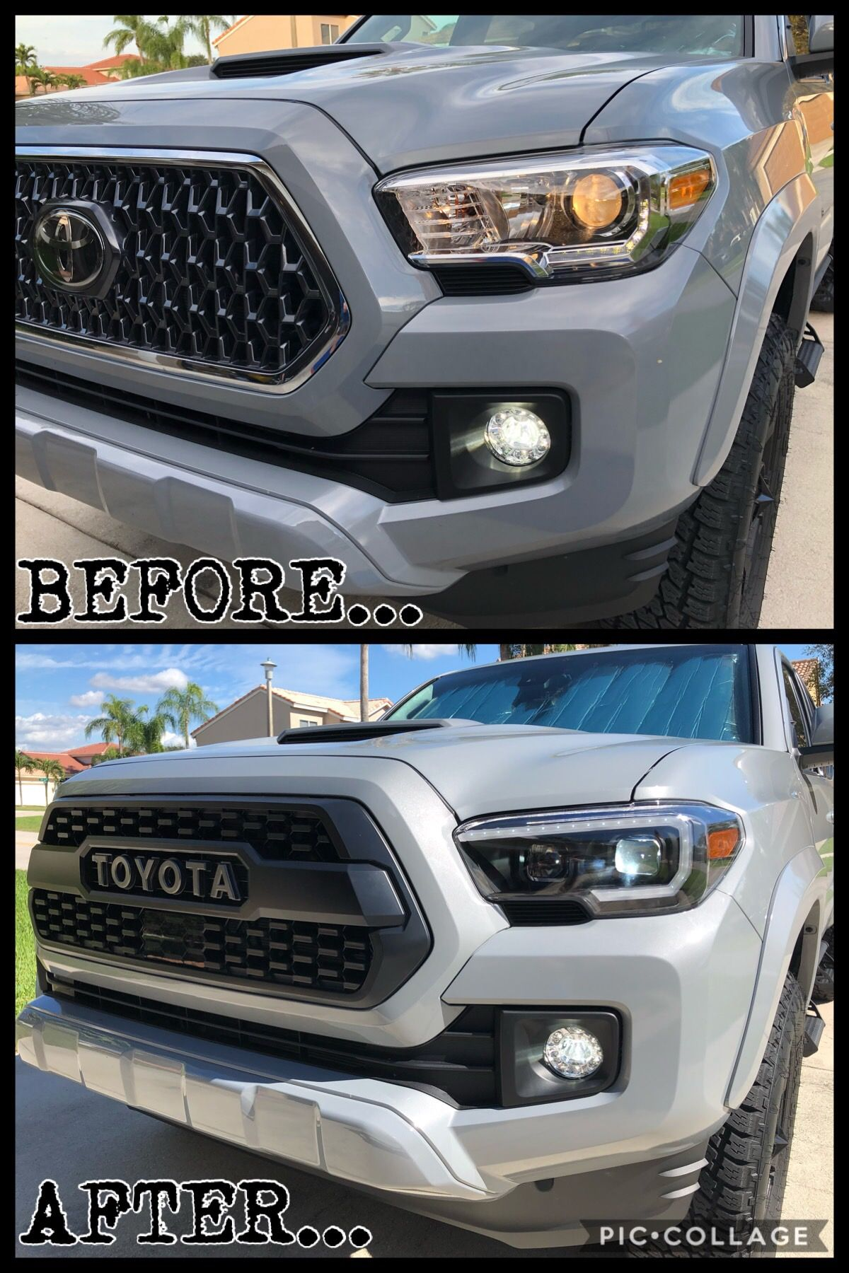 2019 lights and grille changed. Toyota