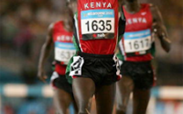 "Obama in Kenya: l'Africa corre"" Barack Obama, in visita in Kenya, la nazione che ha dato i natali al padre, per la prima volta in veste da presidente degli Stati Uniti, ha tenuto un discorso al Global Entrepreneurship Summit, di fr"