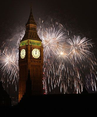 Happy New Year England Special Occasion Outfits England Scenery