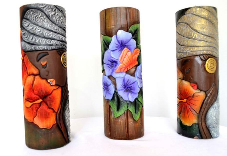 Cuadros con texturas abstractos frutas buscar con google cuadros pinterest - Velas talladas ...