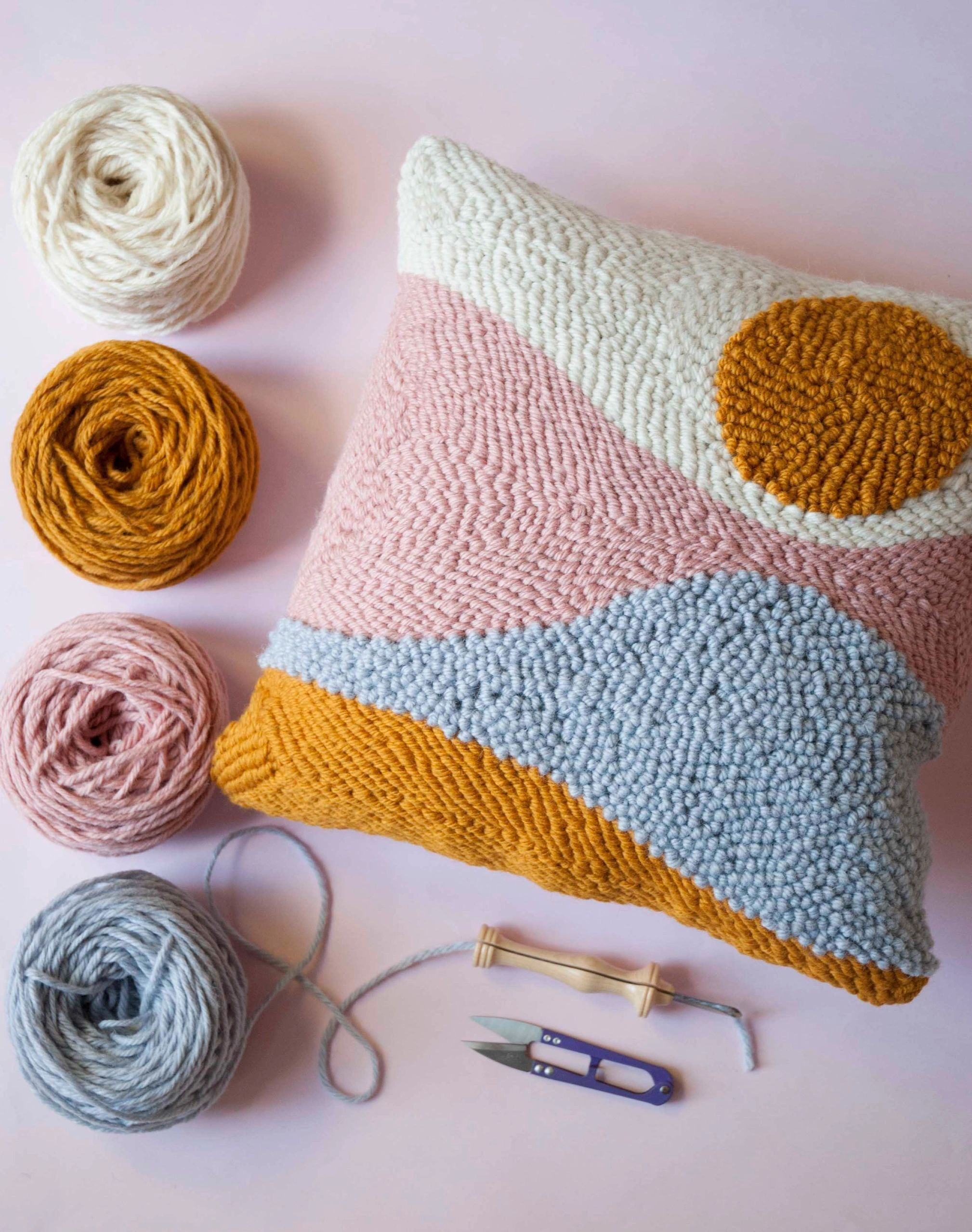 The Modern Crafter provides a modern take on punch needle and embroidery and off...