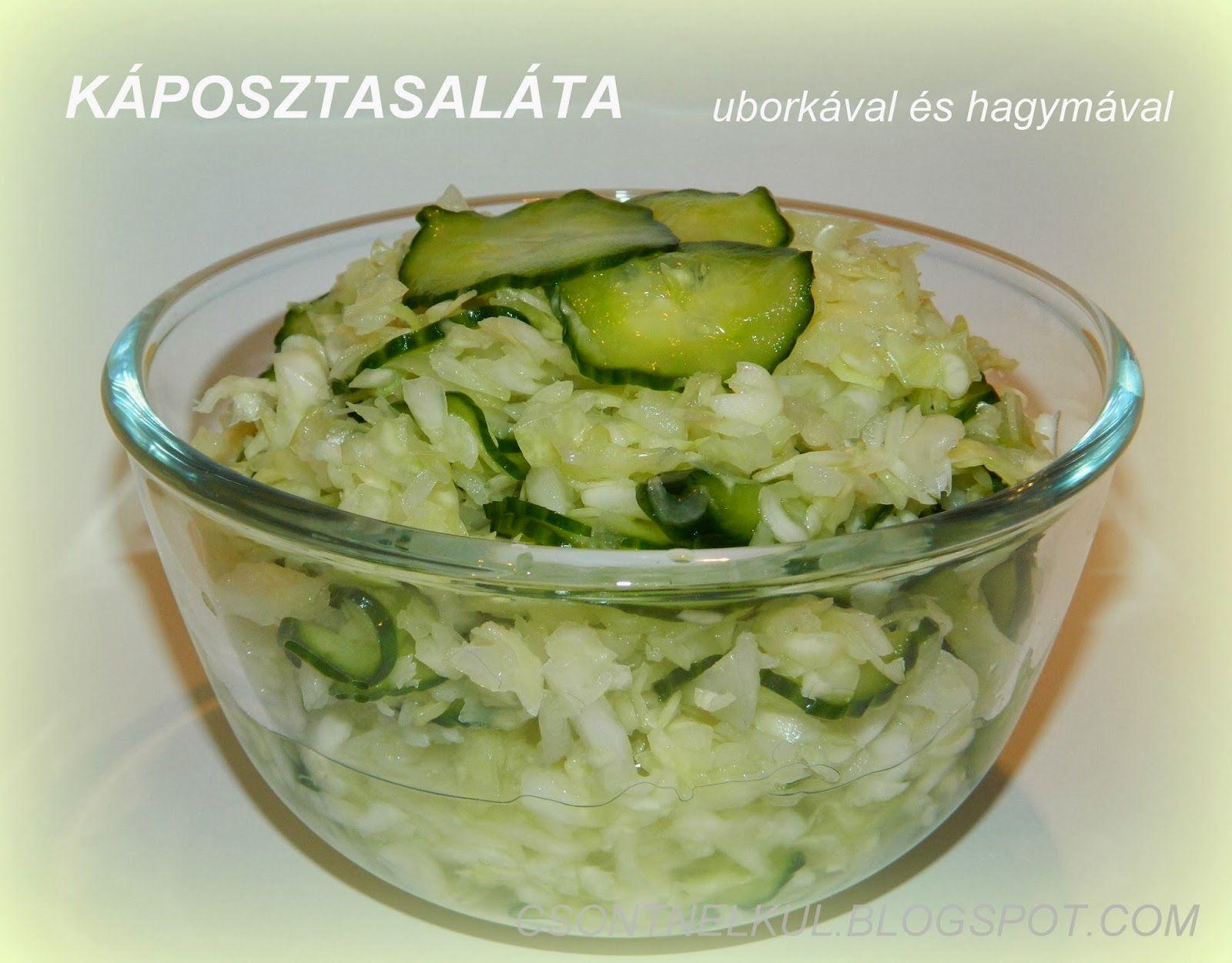 káposzta saláta a fogyáshoz