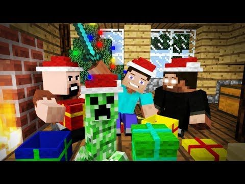 christmas creeper minecraft christmas animation youtube - Christmas Minecraft Videos