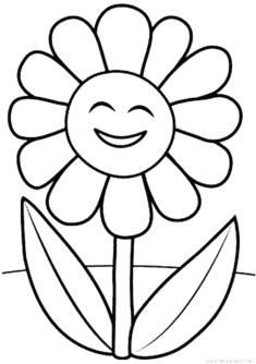 Cicek Boyama Sayfasi Okuloncesitr Preschool 2020 Boyama Sayfalari Nakis Desenleri Cicek