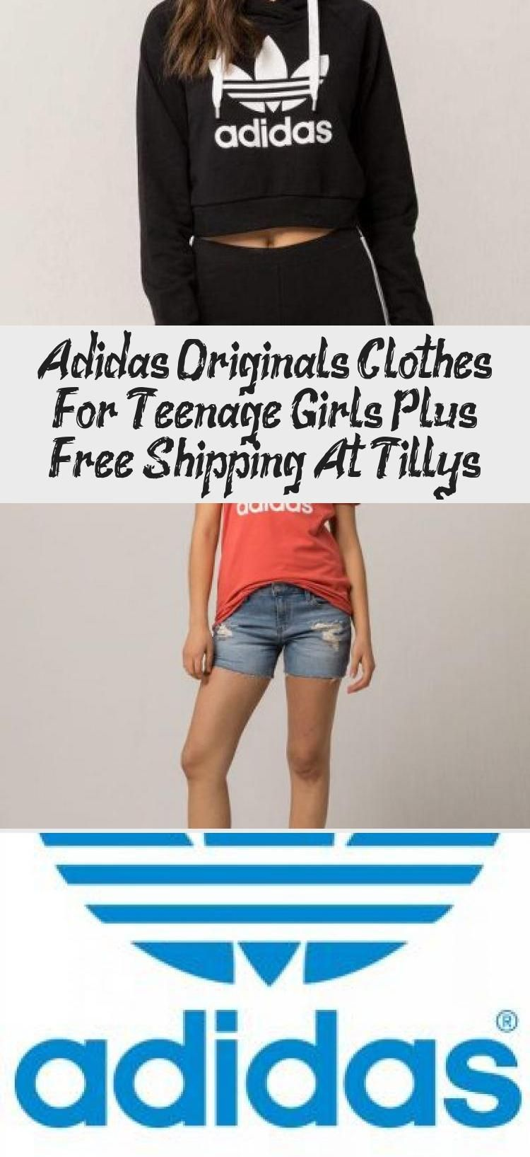 adidas originals cloths for girl