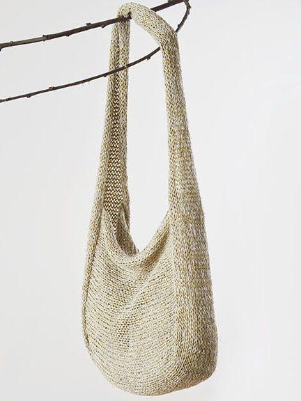 Seda i bossa de paper de lli per Setsuko Torii | www.habutextiles.com