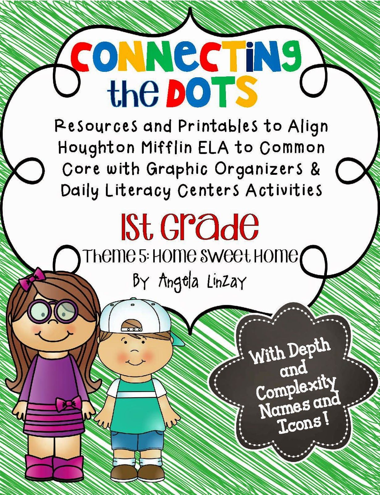 First Grade Houghton Mifflin Theme 5 Resources Over 250