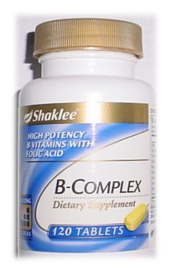 B Complex. My Happy Vitamin. The one I can't live without. (my family, either)