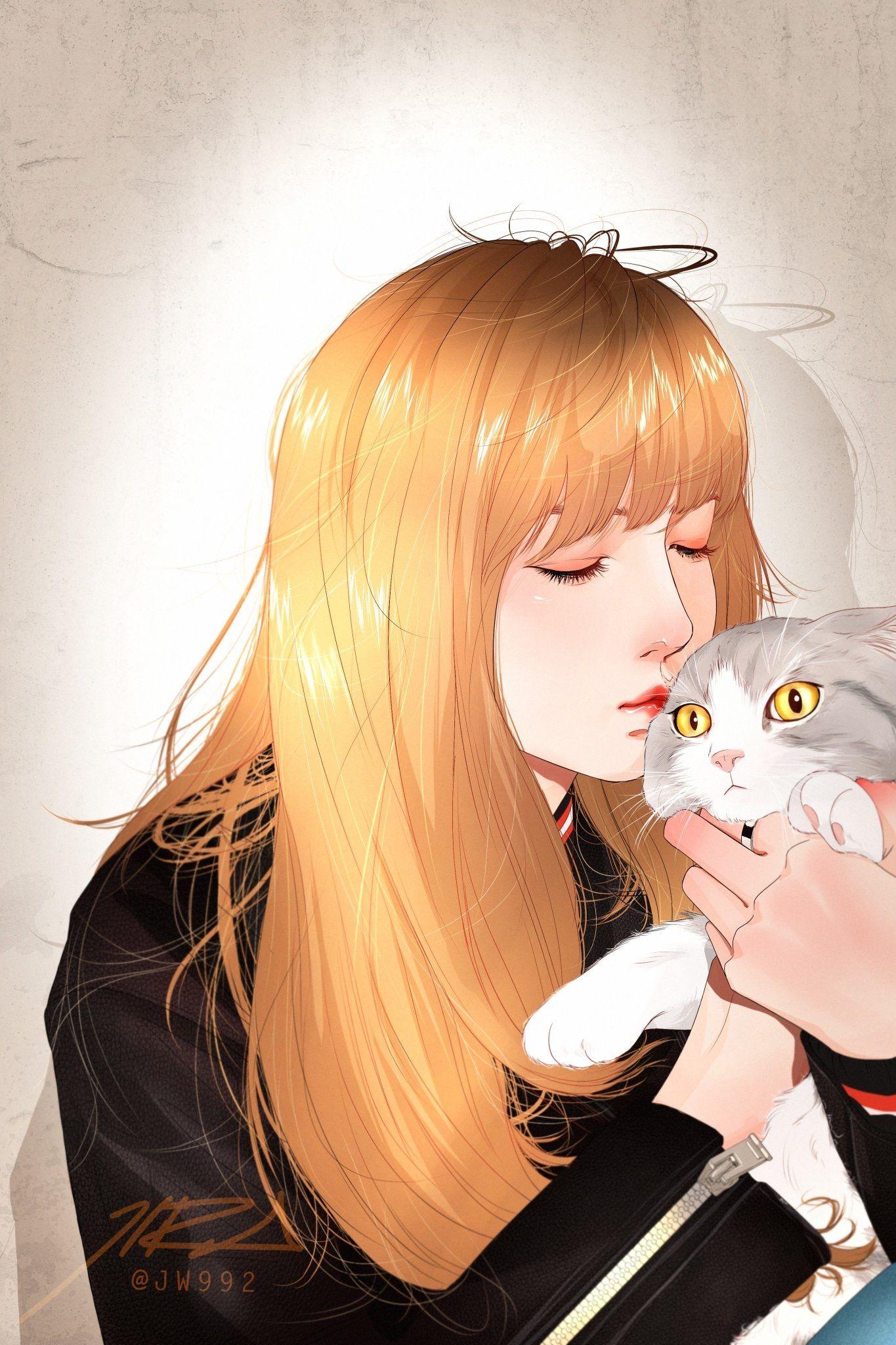 Pin oleh 제리 di BLACKPINK FANART Gambar manga, Fotografi