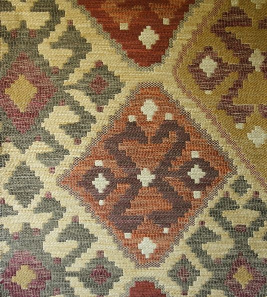 Kilim Upholstery Fabric Heavy Weight