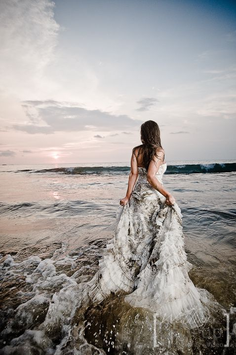 Trash the Dress: Fotos con tu Vestido de Novia después de la Boda ...