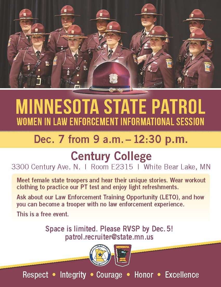 Are you a woman interested in a law enforcement career