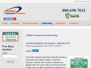 Lifenet Insurance Solutions Blog Life Insurance For Seniors