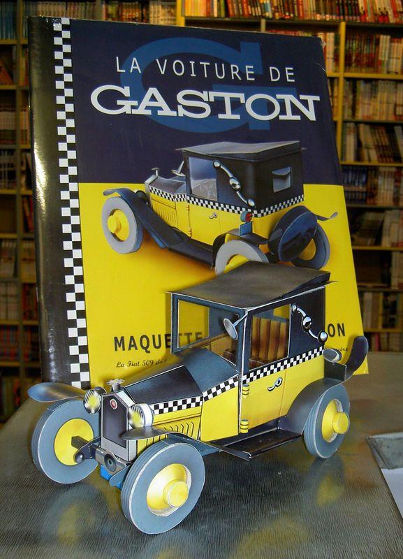 Marque Voiture Gaston Lagaffe : marque, voiture, gaston, lagaffe, Gaston, Lagaffe, Maquette, Carton, André, Franquin, Aroutcheff, Michel
