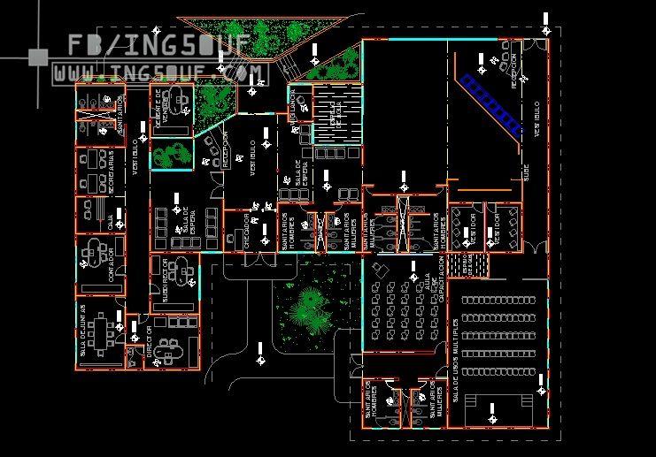 مخطط مبدئي مكاتب ادراية 2 اوتوكاد Dwg مخطط مبدئي مكاتب ادراية 2 اوتوكاد Dwg مخطط مبدئي مكا Civil Engineering Construction Civil Engineering Autocad