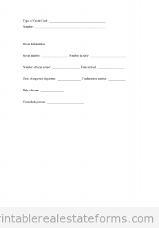 Free Guest Registration Form Printable Real Estate Forms Real Estate Forms Registration Form Real Estate Templates