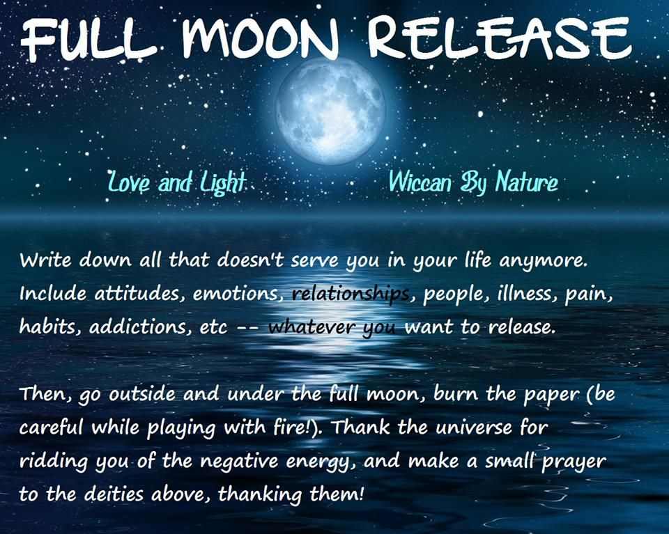 Full Moon Ritual Full Moon Spells New Moon Rituals Moon Spells