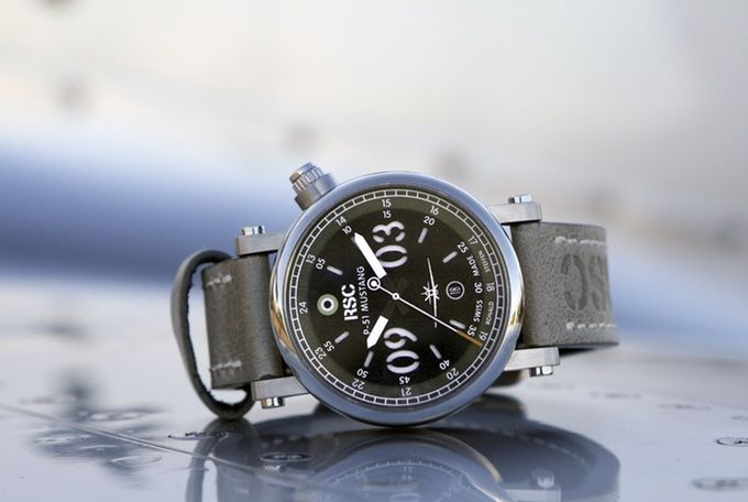 A Swiss Made Automatic Watch Quot P 51 Mustang Rsc Watch Quot By