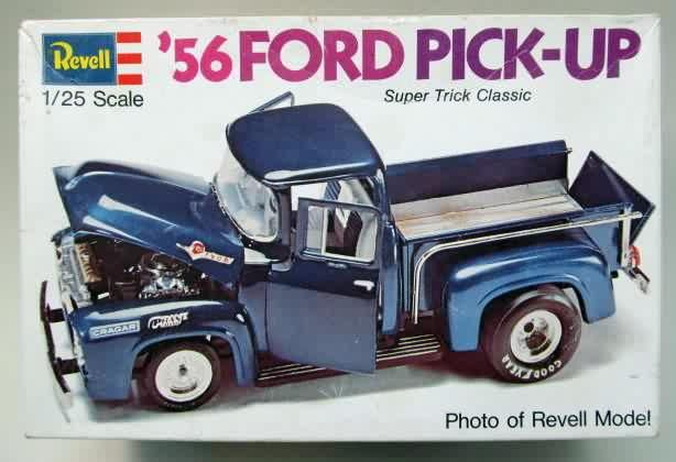 Image result for Revell 56 Ford  F-100