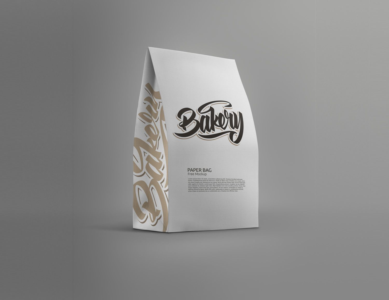 Download Standing Paper Bag Mockup in 2020 | Bag mockup, Paper bag ...